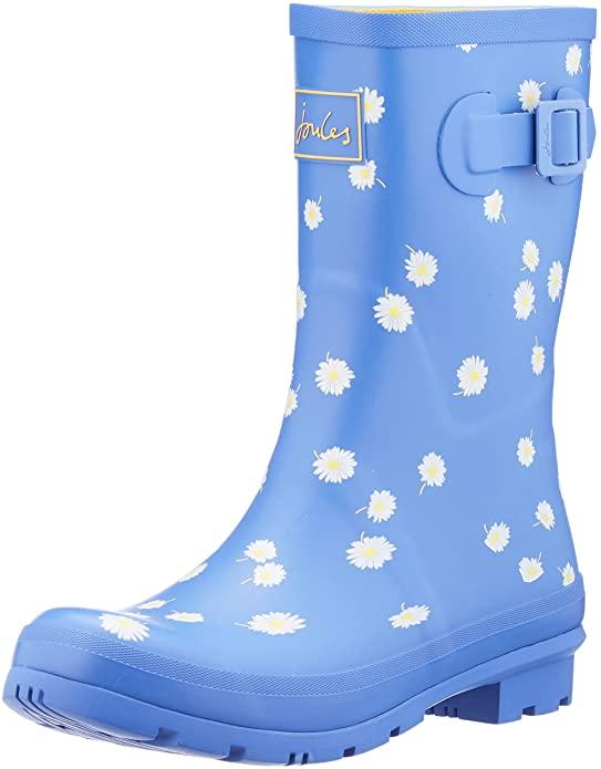 Botas de agua azules
