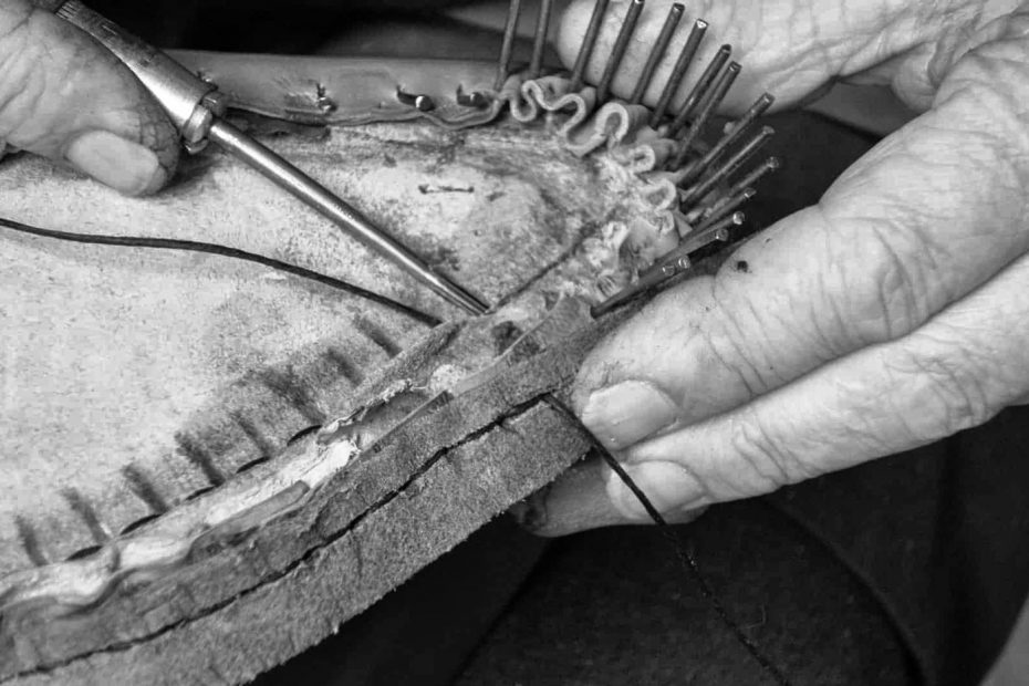 Métodos de fabricación de calzado