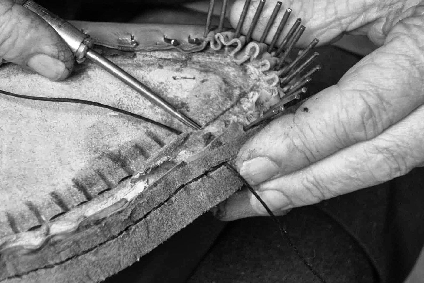 Métodos de fabricación de los zapatos