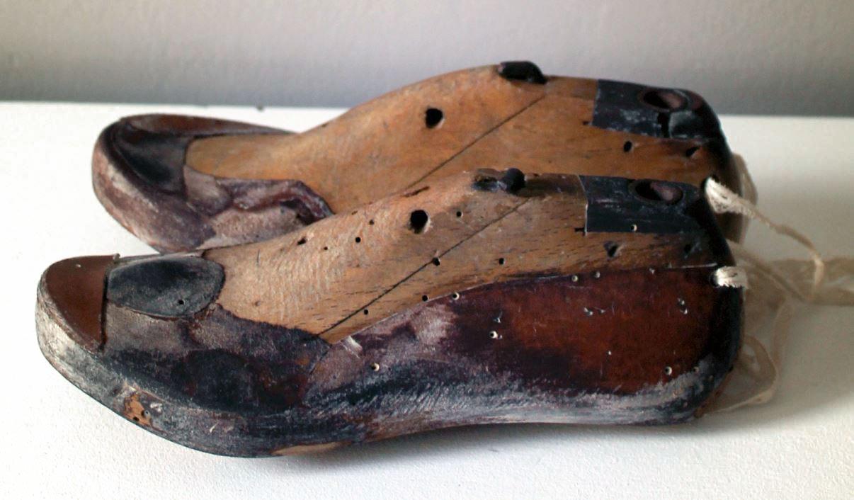 La horma en los zapatos